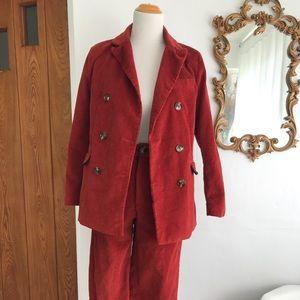 Shein Corduroy Suit